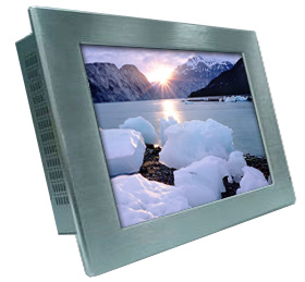 17.3 inch wide screen LCD NEMA 4X Panel Mount