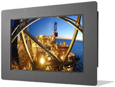 22 inch NEMA 4 industrial panel PC
