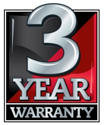 3 Three Year Warranty for Industrial LCD Flat Panel Displays