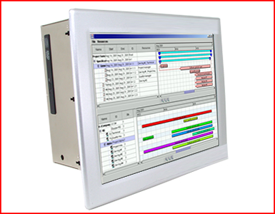 "ABraxSys AS064P4XPCC 6.4"" Industrial Grade NEMA 4X (IP66) WinCE based HMI Touch Screen"