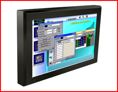 "AbraxSys AS240V 24"" IP50 Full High-Definition 1080p VESA Mount LCD Flat Panel"