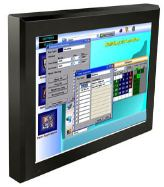 AbraxSys Sunlight Readable High Bright VESA Mount IP50 Rated LCD Monitor Model AS240VHB