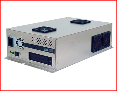 AbraxSys AS250PC Industrial Computer with 2x PCI Slots Side View