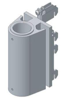 ASMA8034 - Straight Panel Mount