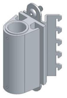 ASMA8035 - Corner Panel Mount