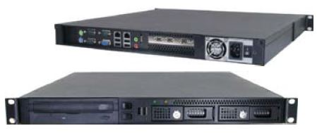 1U Industrial Rackmount Server PCs