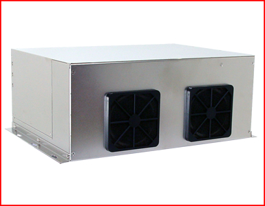 AbraxSys AS350PC Industrial Grade Computer with 3x PC Slots Fans Area
