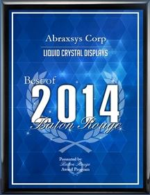 AbraxSys Best of LCD Award