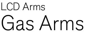 AbraxSys Gas Mounting Arms