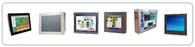 Industrial LCD Flat Panels