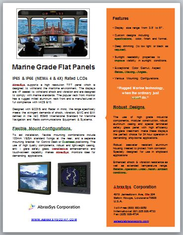 AbraxSys Marine Product Flyer Link