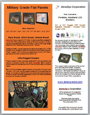 AbraxSys Military Product Flyer Link
