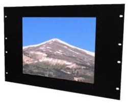 AbraxSys Daylight Readable Rack Mount LCD Flat Panel Monitor