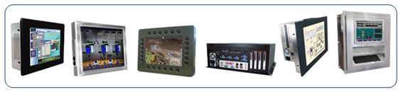 Industrial, Military, Marine grade LCD Flat Panels & Touch Screen Computers