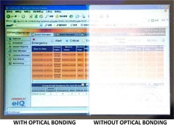 AbraxSys LCD Optical Bonding Difference