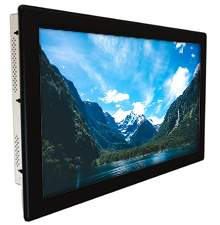 Large Wide Screen Industrial LCD Panel Mount