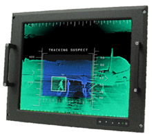 17 inch Military Panel Mount LCD