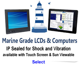 Marine Grade LCDs and Computers