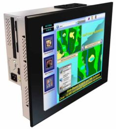 AbraxSys Expandable Industrial Grade Touch Screen Panel PC