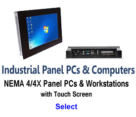 Industrial Panel PCs and Computers