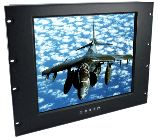 AbraxSys Industrial Grade Rack Mount LCD Monitors