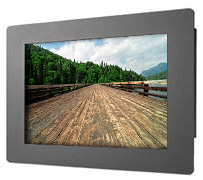 17.3 inch wide screen sunlight viewable monitor
