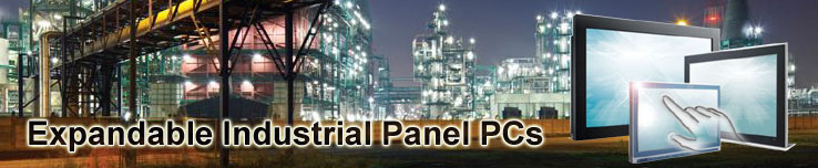 Expandable industrial panel pc touch screen computers