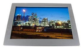 22 inch wide screen NEMA 4X panel mount LCD Display