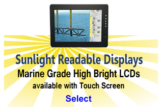 Sunlight Readable LCD Monitors