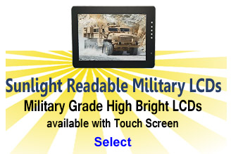 Sunlight Readable Mil-Spec LCD Monitors