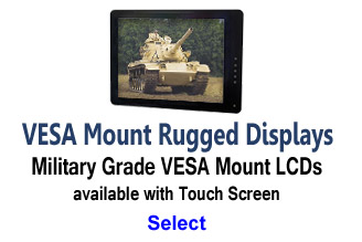 VESA Mount Mil-Spec LCD Monitors