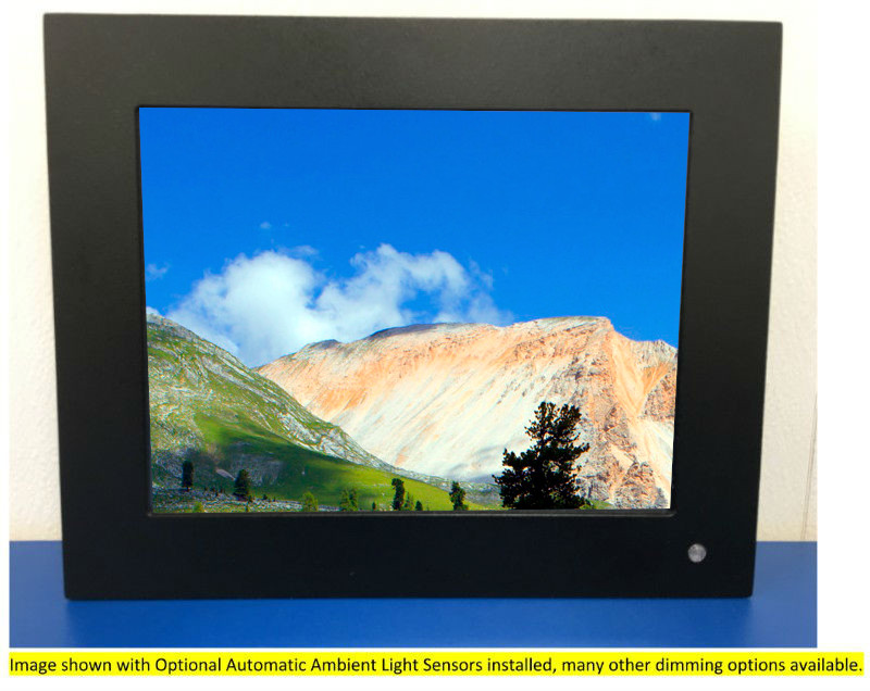 10.4 inch  High Bright Rugged  Panel Mount LCD