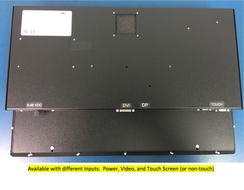 18.5 inch Sunlight Viewable Panel Mount LCD