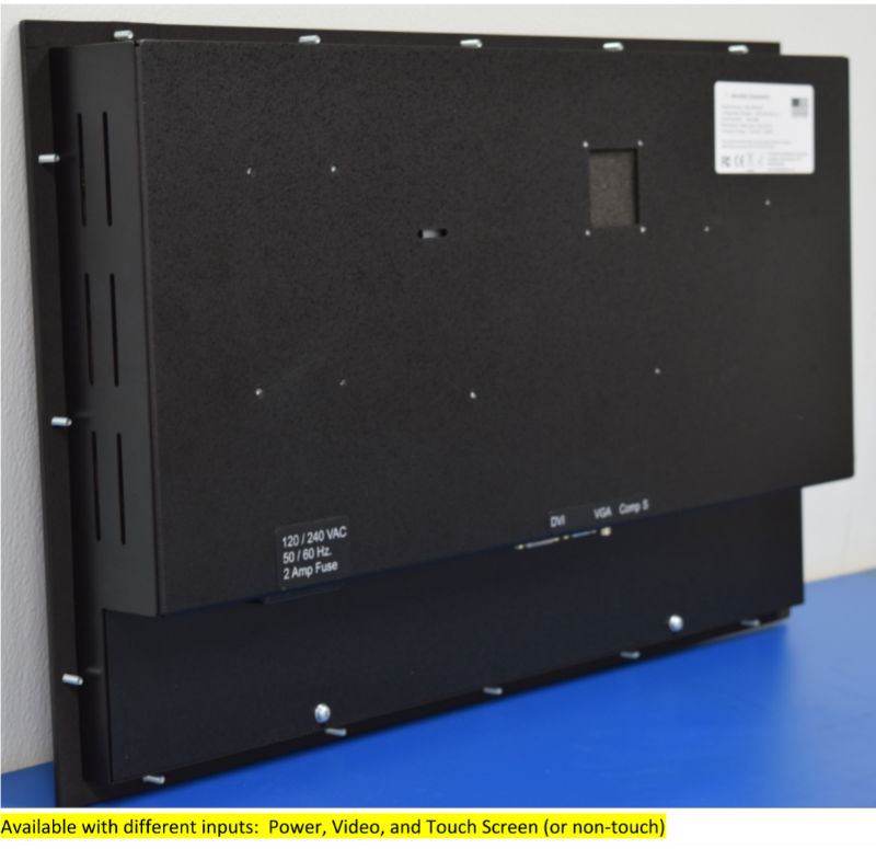 24.0 inch Rugged Panel Mount LCD