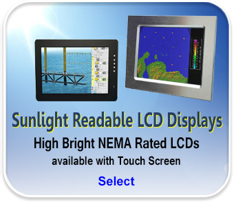 Sunlight Readable LCD Displays