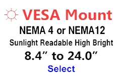 AbraxSys High Bright Vesa Mount Monitors